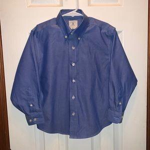 Boy's Dress Shirt, Lands' End, S (4-6/109-118cm)